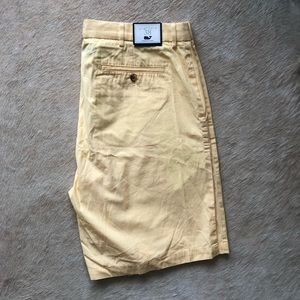 Yellow Vineyard Vines Clubhouse Short